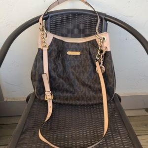 MK Crossbody with Shoulder Strap